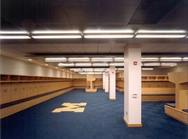 Football Stadium Locker Room Expansion